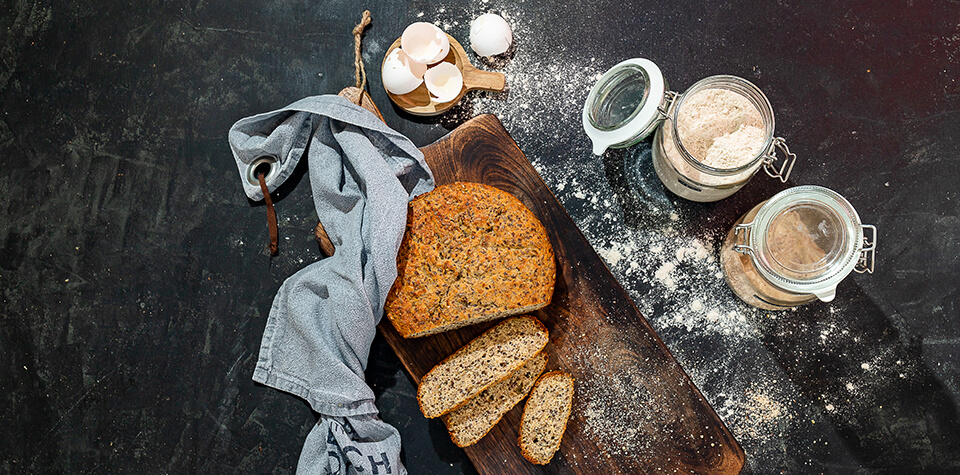 Quick & Easy Low Carb Brot