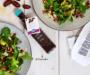 Feldsalat mit Dattel Balsam Star und Speck