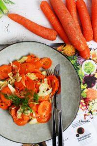Möhren-Fenchel-Salat mit Wellness-Dressing
