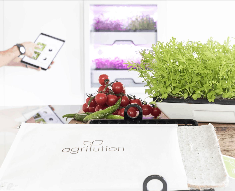 anzeige jeden tag frische salate mit dem plantcube von agrilution cleaneater. Black Bedroom Furniture Sets. Home Design Ideas