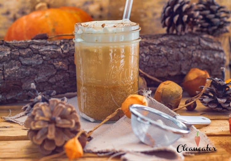 Pumpkin Spice Latte mit W-Omega 3-6-9 Power Mix Öl