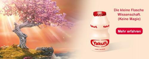 Gut in den Tag starten mit Yakult