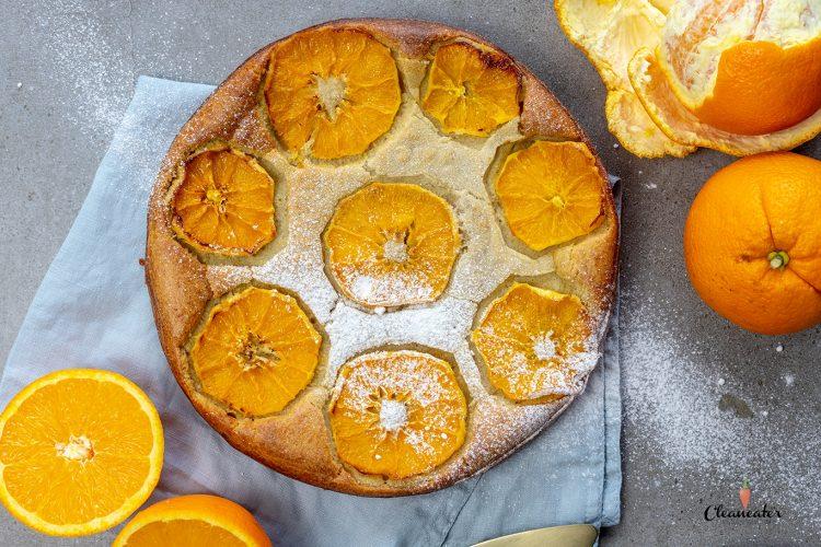 Fluffiger Orangenkuchen mit Orangenöl