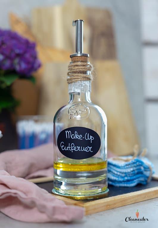 Nachhaltig leben - Make-up Entferner mit Aprikosenkernöl