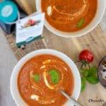 Quick & Easy Tomatensuppe mit Tomatenöl