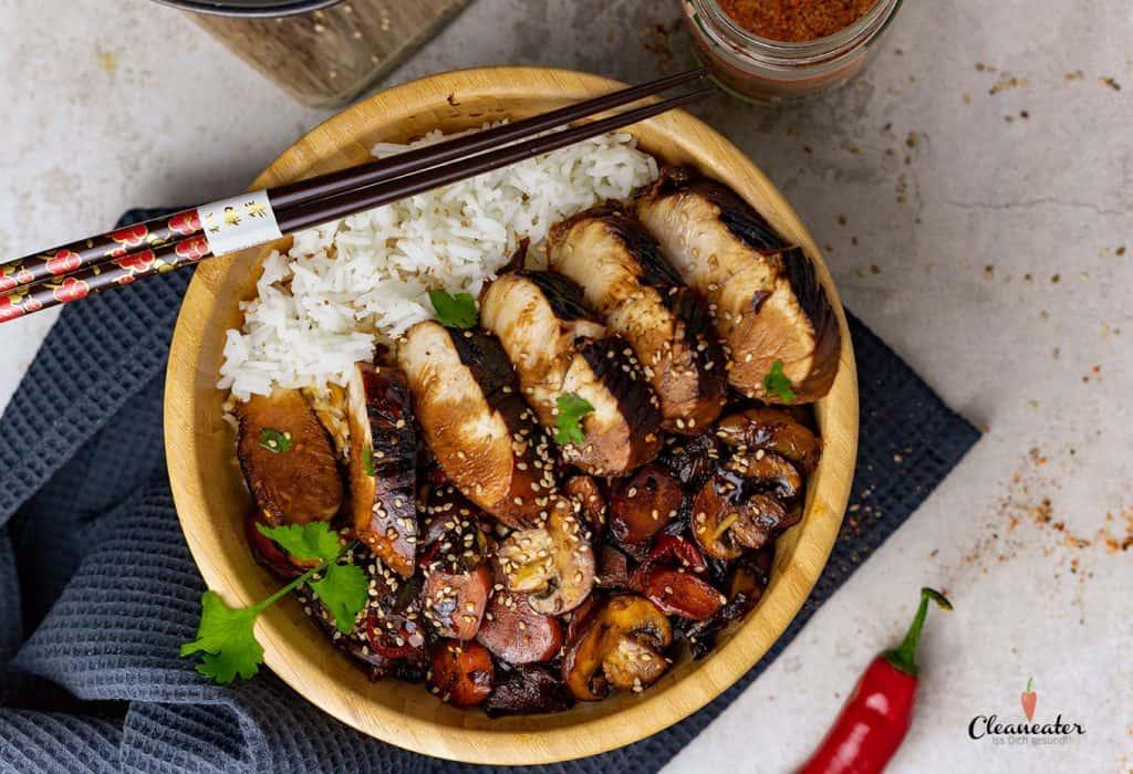Chicken-Teriyaki-mit-Maracuja-Balsam-Essig