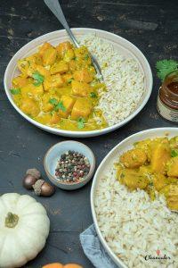 Schnelles Kürbis-Curry