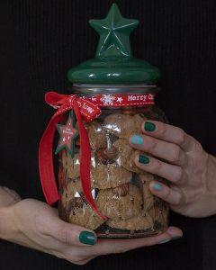 Erdnussbutter-Plätzchen mit Haselnussöl