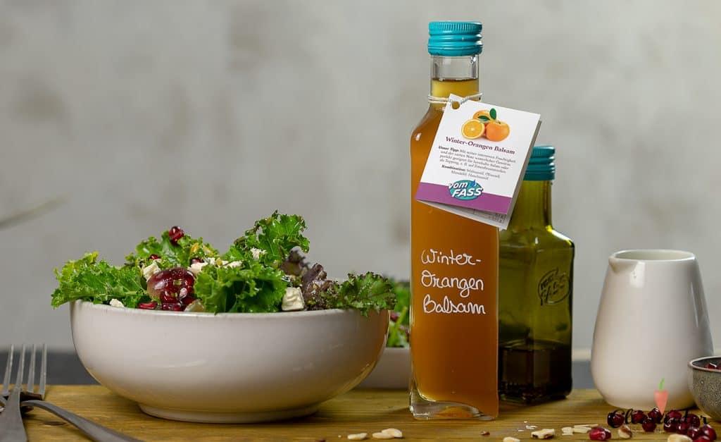 Grünkohlsalat mit Winter-Orangen Balsam-Star