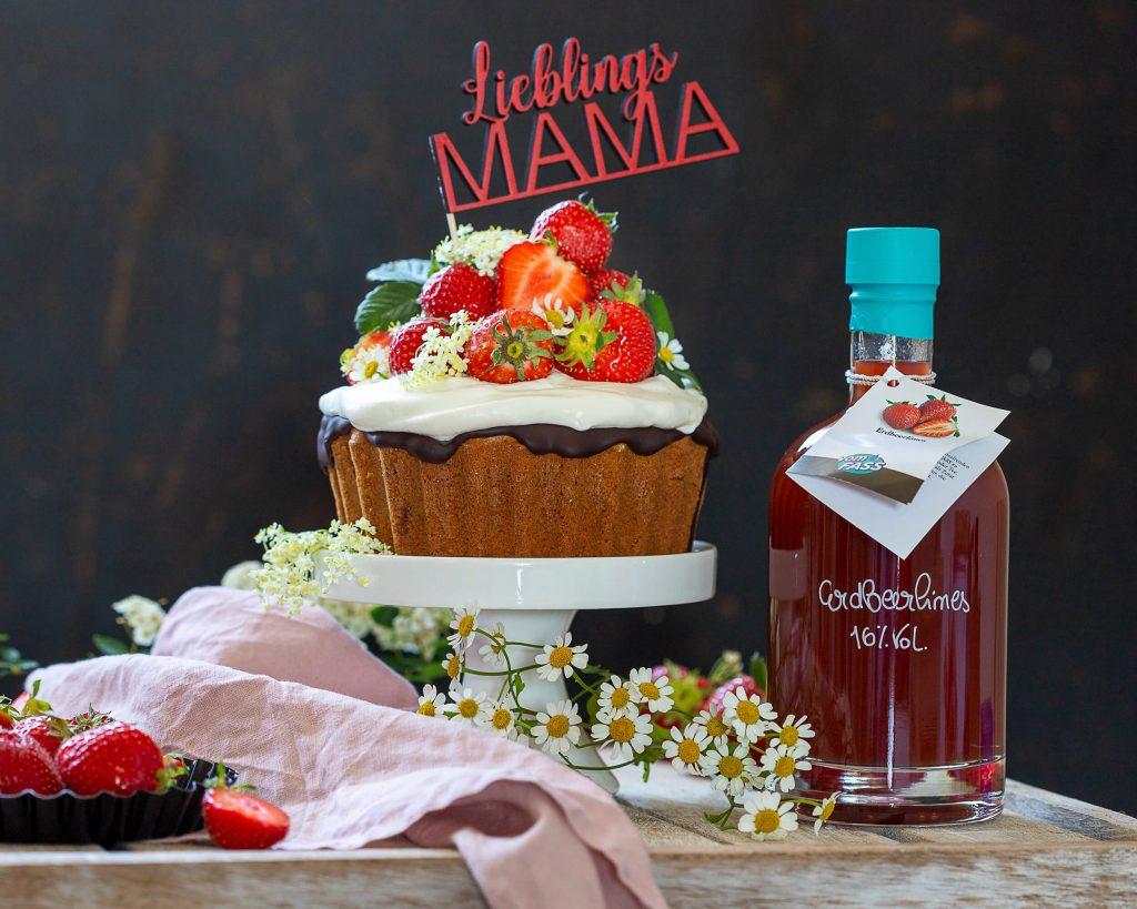 Cupcaketorte zum Muttertag