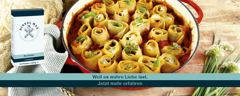"""""""Anzeige"""" DINKEL MAX Bio Dinkel Drelli mit Grünkohl"""