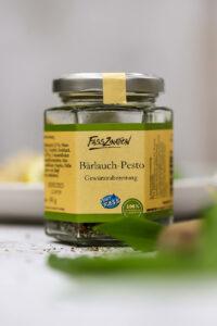 Bärlauchravioli mit Bärlauchpesto